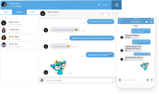 Which is the best Android API to develop a chat application? - Quora