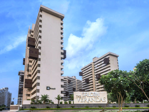 This High Rise Residential Project Offers Lavishly Designed Apartments  Which Promise A High Standard ...