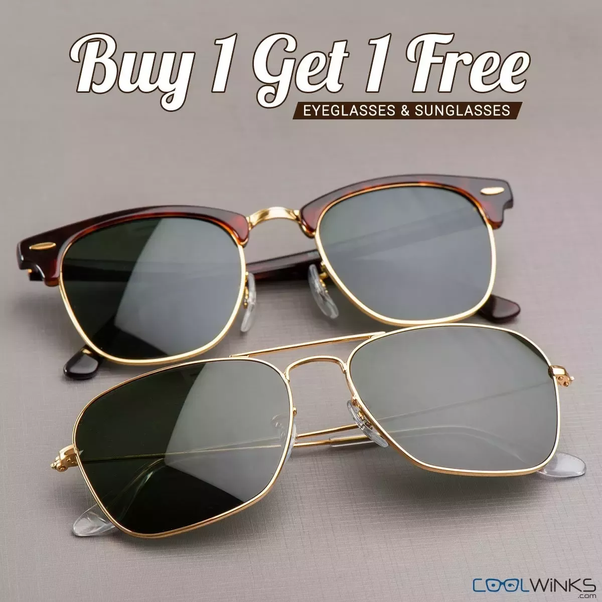 e5aabcbd8f How to Get 2 Branded Sunglasses for Rs. 278 - from Coolwinks