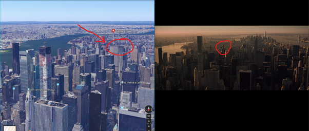 in the avengers what address in nyc is stark tower quora
