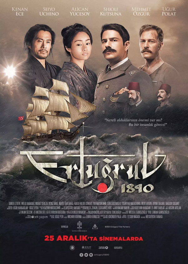 Movie 'Ertuğrul 1890' praising Turkish-Japanese friendship ...