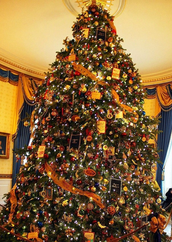 the official white house christmas tree is the one placed in the blue room it is a donated tree from the national christmas tree association and this
