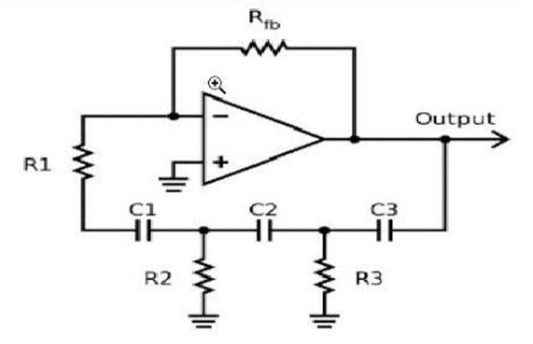 what type of feedback used in rc phase shift oscillator