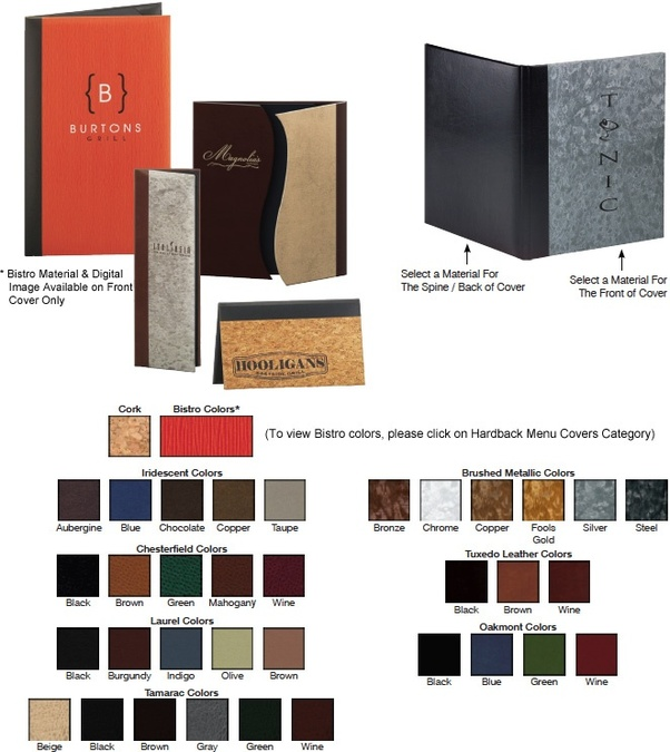 which restaurant menu cover supplier offers the best designing