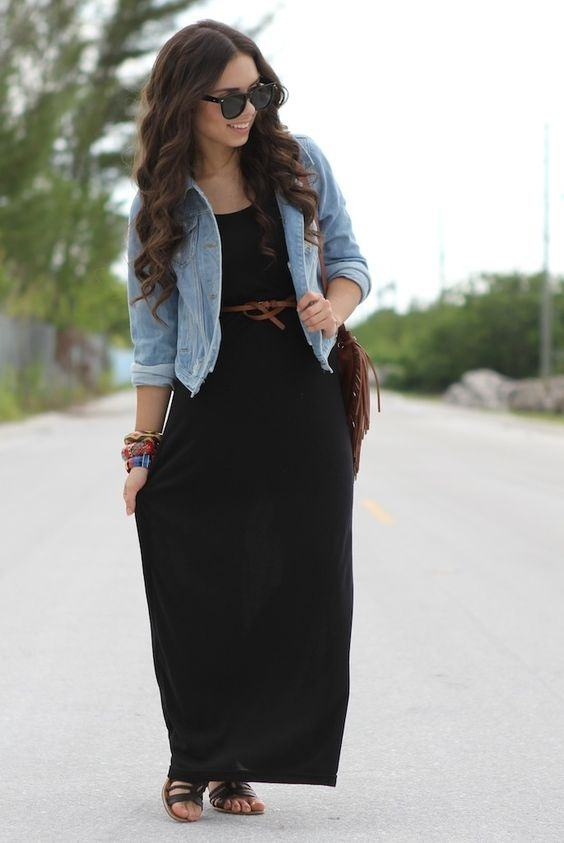 How to style my simple black gown - Quora