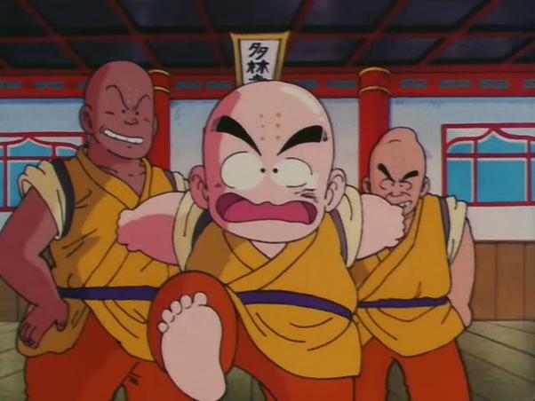 In Dragon Ball Why Did Krillin Train Under Master Roshi Quora