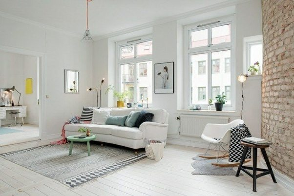 These Diffe White Living Rooms Show That Even Various Shades Of Can Make Your Apartment Look More Luxurious As Long It S Bright And Crisp