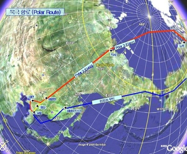 What are the reasons that flight paths especially for long haul wind speed and direction prevailing at various altitudes enable aircraft to avoid strong head winds or take advantage of the tail winds see above map gumiabroncs Images