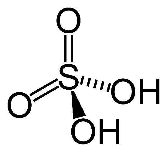 What Is The Formula Of Sulphuric Acid Quora