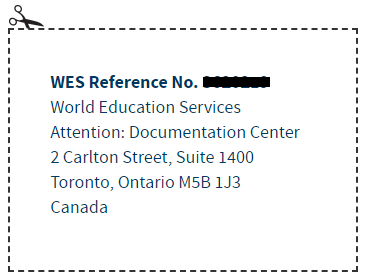 What is the latest procedure of completing WES educational