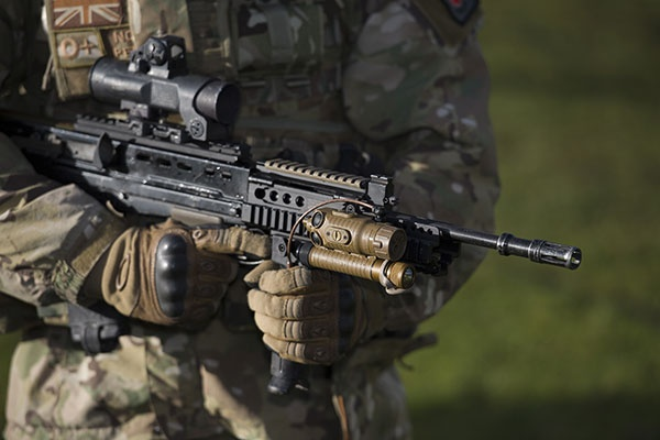 What is the standard British army rifle called? - Quora