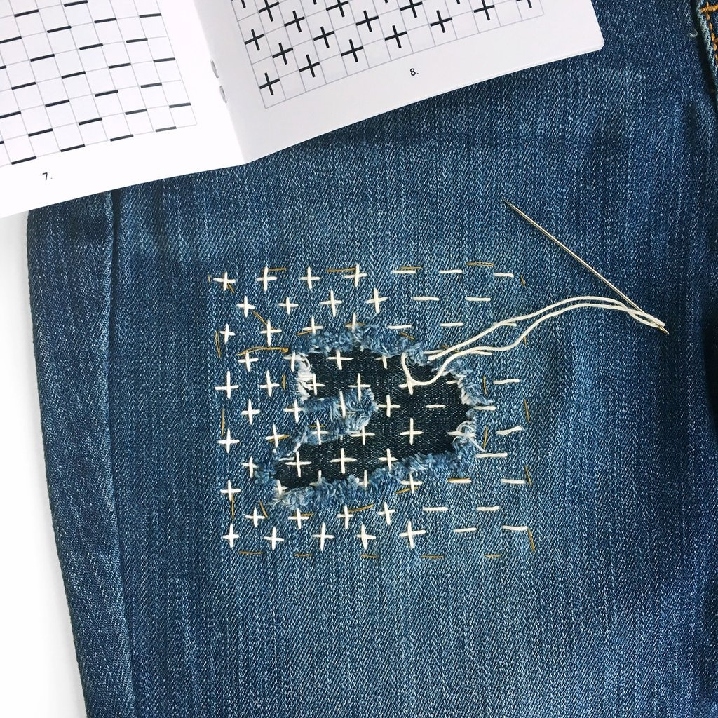 Is Sewing Up A Ripped Knee In A Pair Of Jeans Considered Tacky Quora