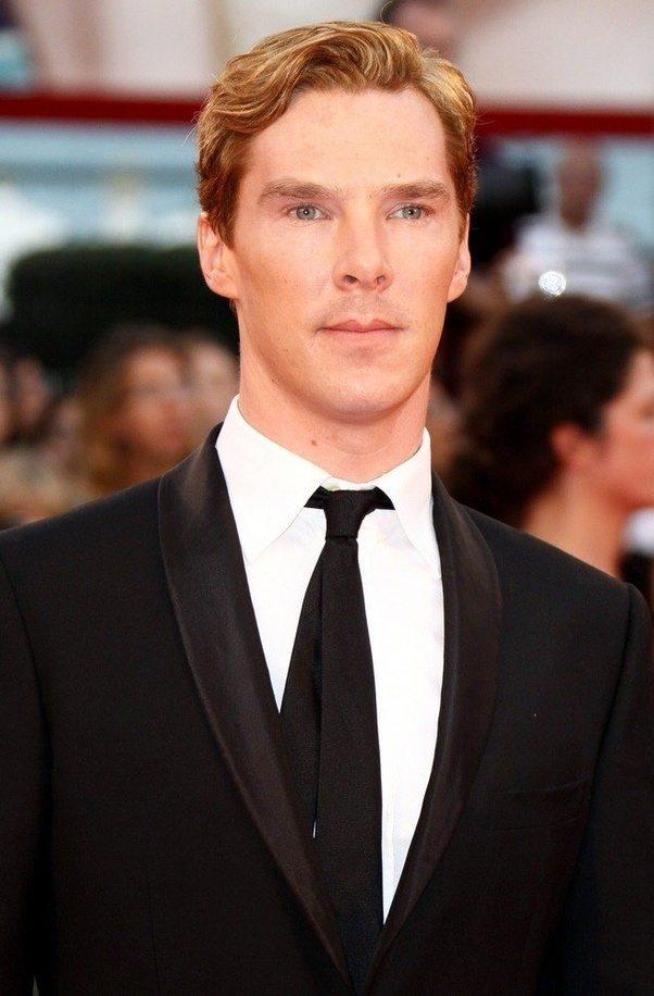 Is Benedict Cumberbatch Naturally Blonde Or Brunette Quora