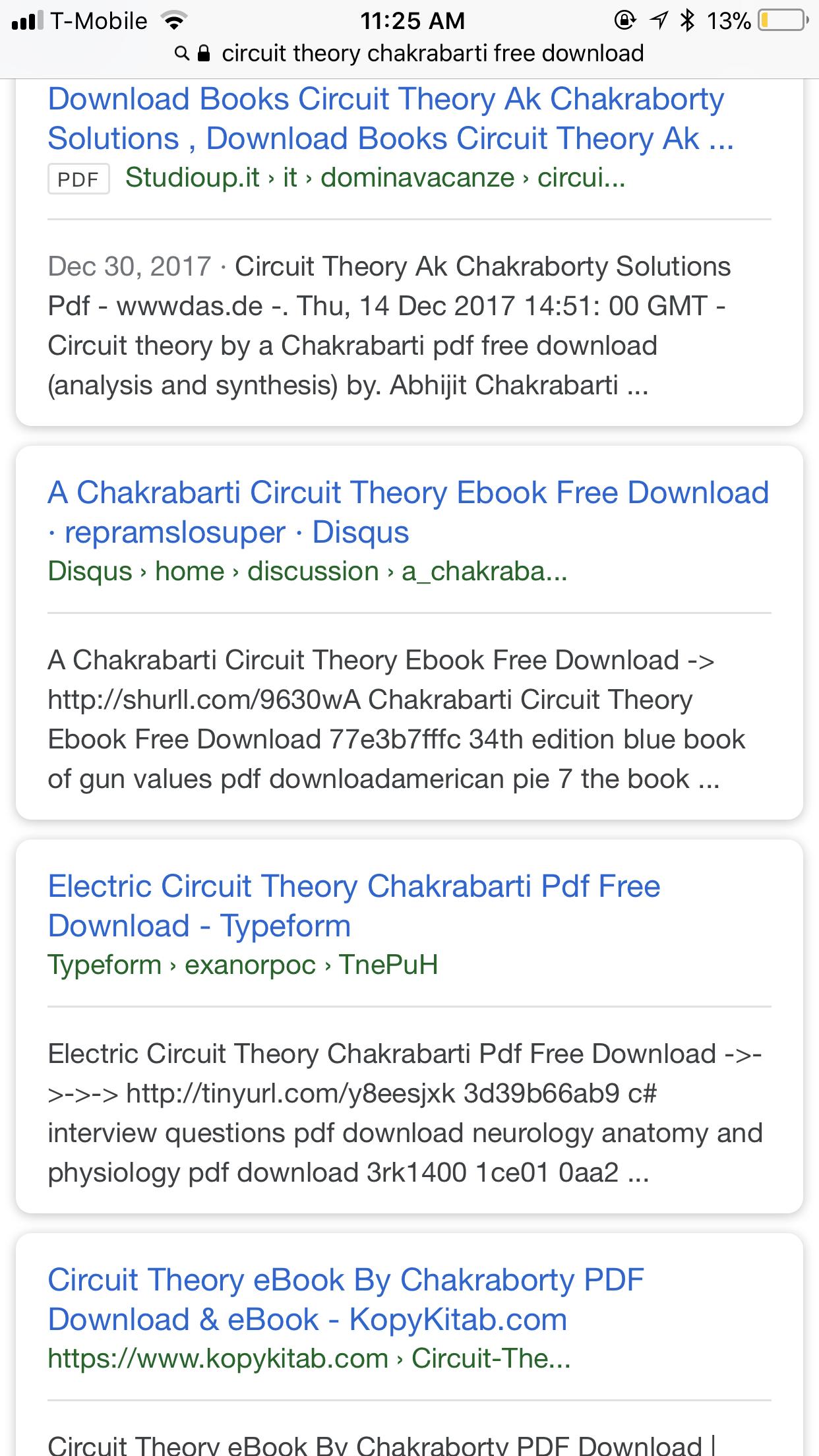 Electronic Circuit Book Pdf