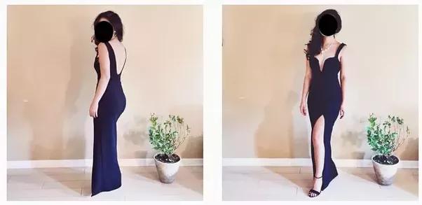Prom Night Dress Cleavage