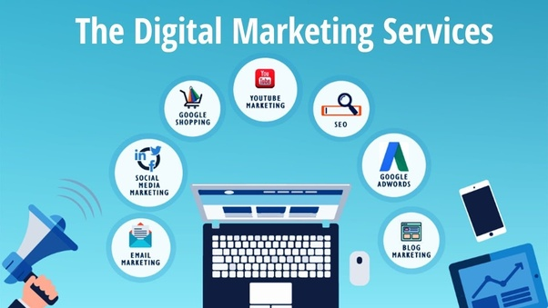 What is covered under digital marketing services? - Quora