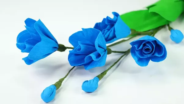 What are some easy to make paper crafts quora make this easy paper flower craft and make a beautiful blue poppy flower himalayan poppy flower is one of the attractive flowers but you do not need to go mightylinksfo