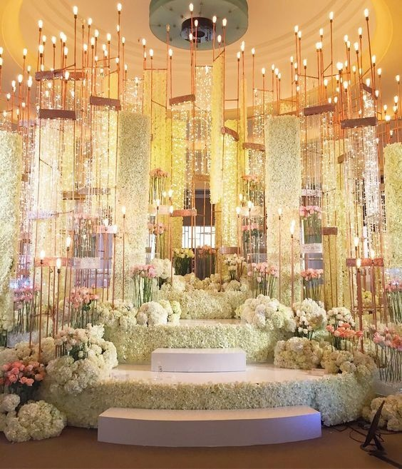 What Are Some Of The Best Ideas For Indian Wedding Stage