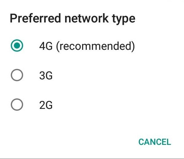 network or preferred network type there you should see 4g 3g and 2g as network options if you find 4g lte then your phone supports 4g network