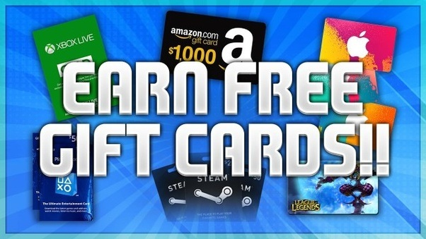 how to get free gift cards quora