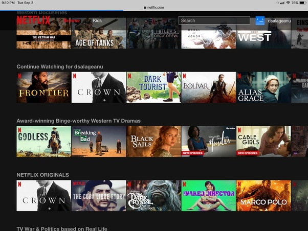 Can you watch Netflix on an iPad without the app? - Quora