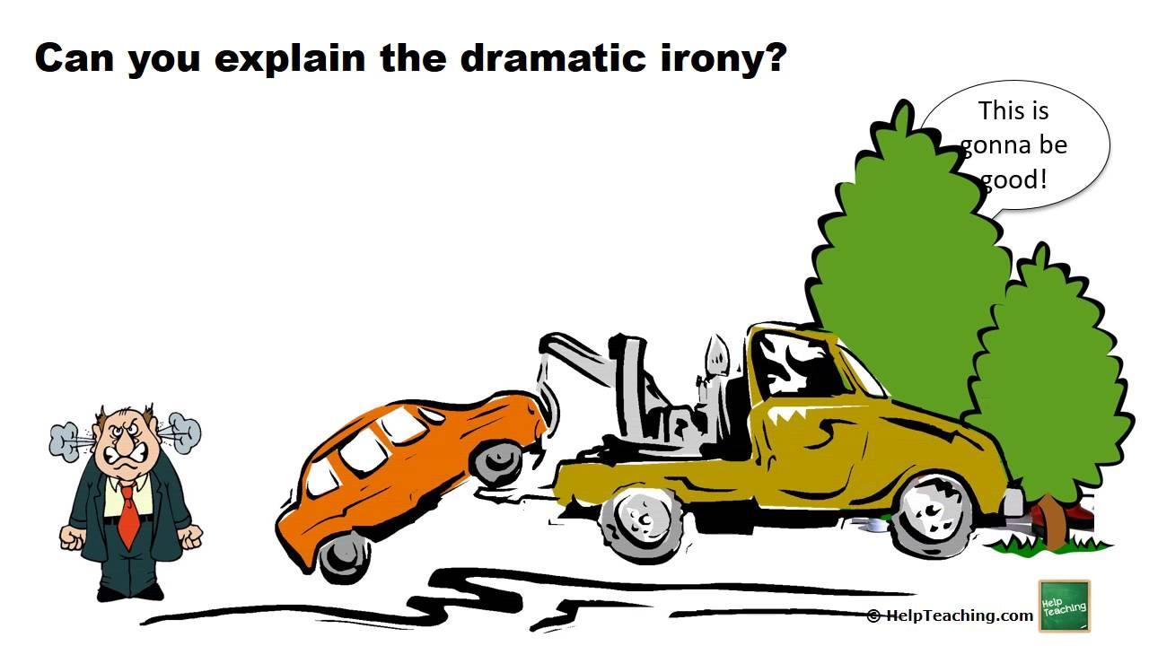 define dramatic irony literary term