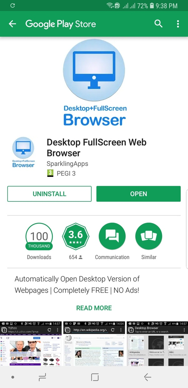What is the best desktop browser for an Android mobile? - Quora