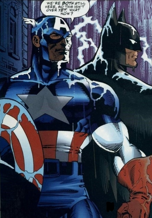 Who would win in a fight: Captain America or Batman? - Quora