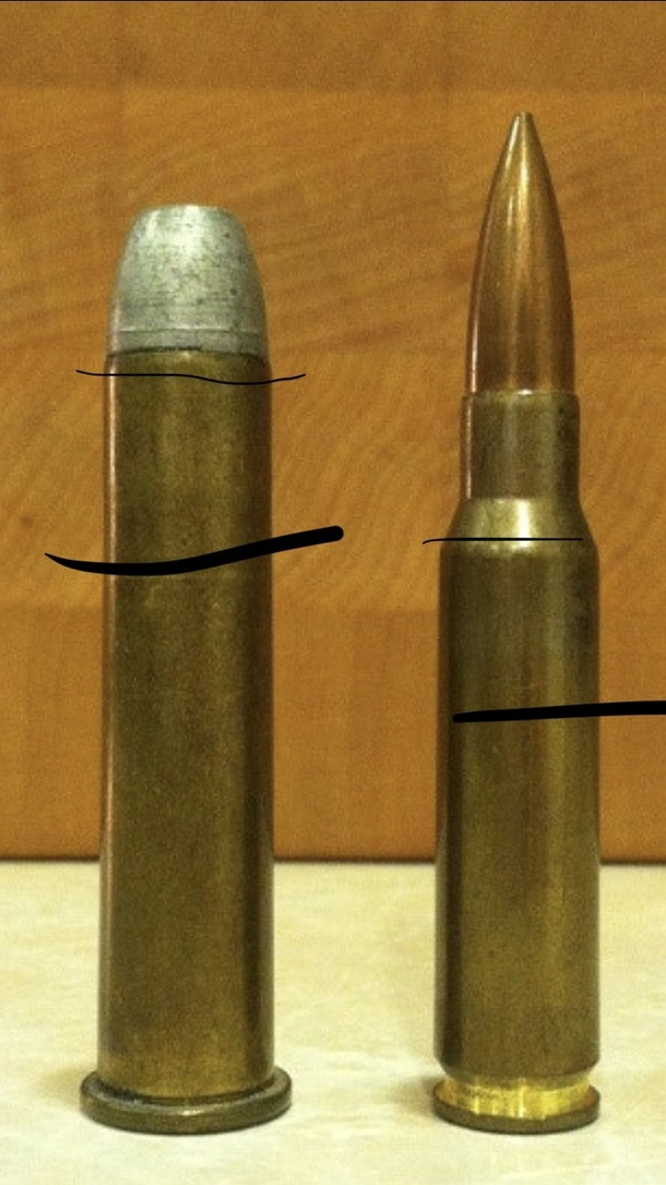 What type of round goes in a 50 caliber machine gun? - Quora