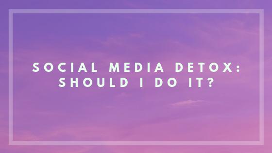 detox meaning social media