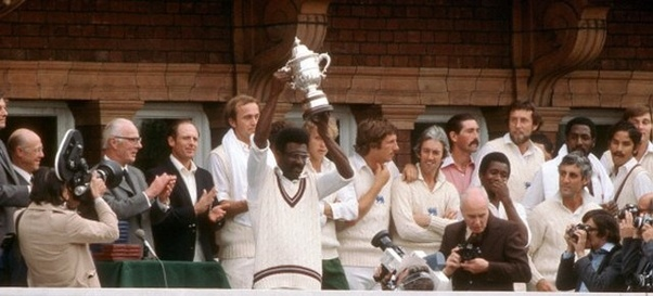 West Indies winning 1979 ODI World Cup