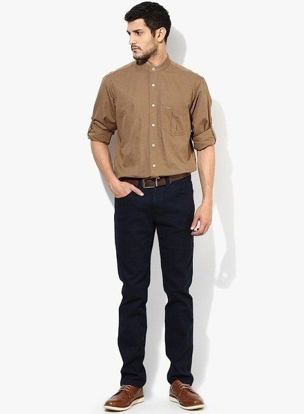 which colour pants match a brown shirt  quora