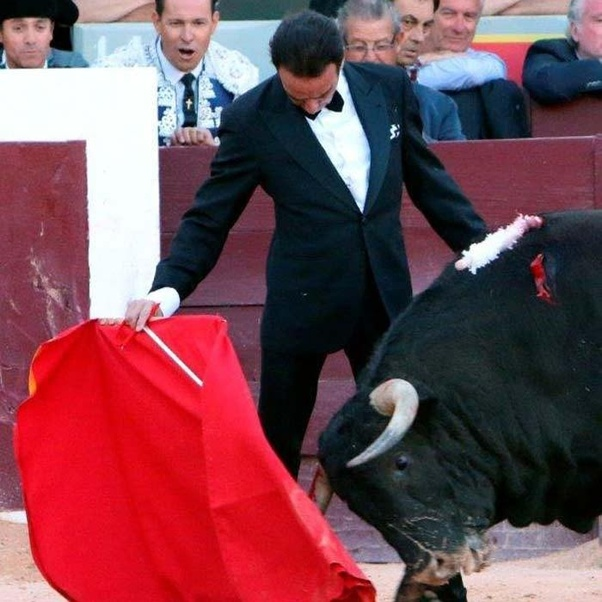 And Of Course Some Bullfighters Do What They Want Enrique Ponce Again In His Famous James Bond Suit