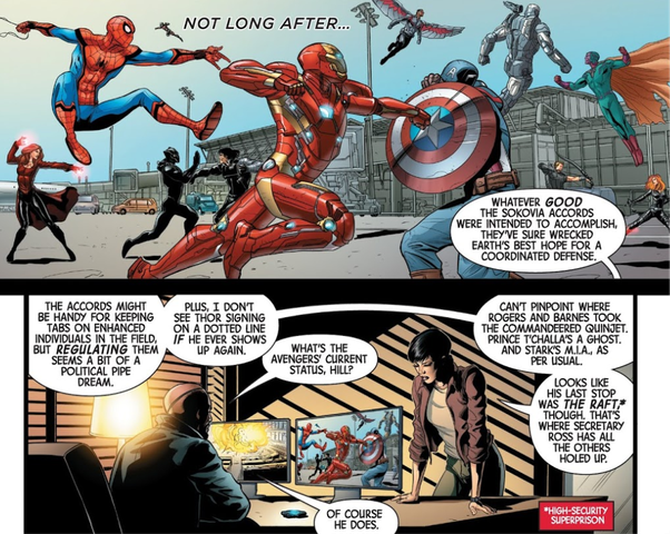 Was Nick Fury for or against the Sokovia Accords? - Quora
