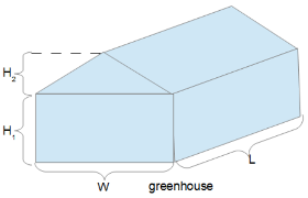 Delightful But If Your House Is A Different Shape, Youu0027ll Have To Use Different  Formulas. What If Your House Was Shaped Like A Quonset Hut (below)? It Is A  Different ...
