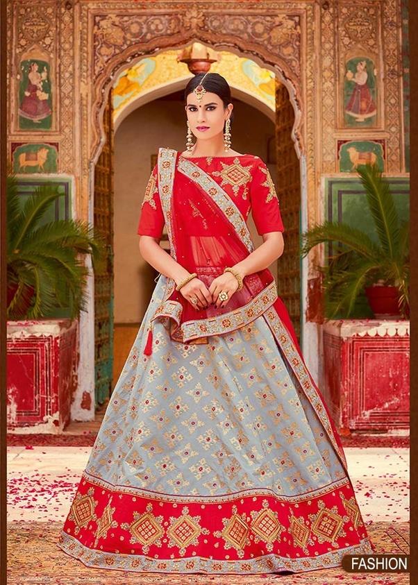 da740fde009ec7 Where can I get a designer Lehenga in India, for my sister's wedding ...