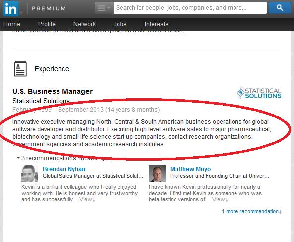 linkedin profile  should i list my promotion at a company
