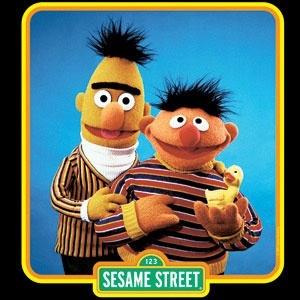 Bert And Ernie Sidekicks Friends From Sesame Street