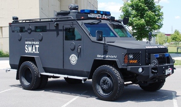 What kind of vehicle is the Boston SWAT truck/SUV? - Quora