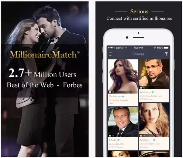 Millionaires dating site in usa