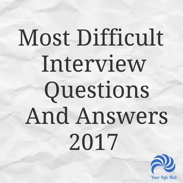 What are the basic questions asked in a job interview? - Quora