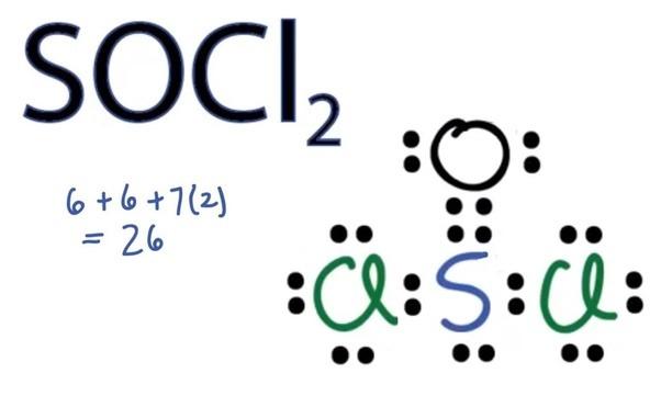Socl2 Lewis Dot Structure