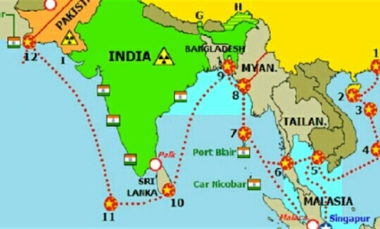 How is the maldives crisis going to affect india in the south asia have spread a string of container facilities alleged military bases and logistics support establishments including sri lanka maldives and bangladesh gumiabroncs Image collections