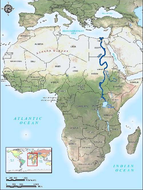 Has Egypt always been part of Africa Quora