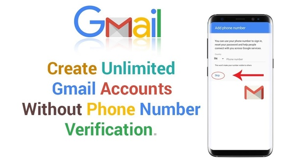 How to create a Gmail account without a verification number - Quora