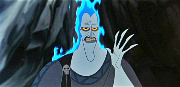 If Hades Is A God Shouldn T He Glow Like All Other Gods In