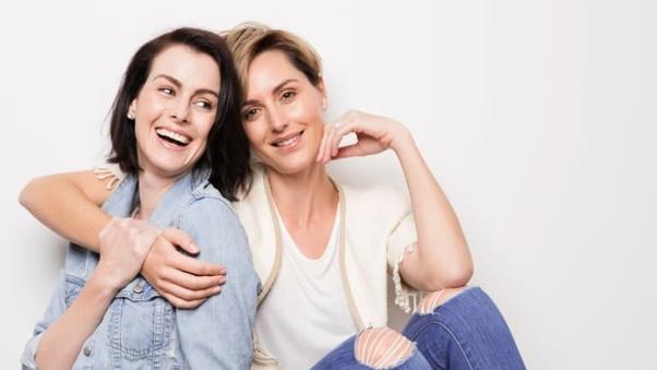 dospívající lesbický popruh