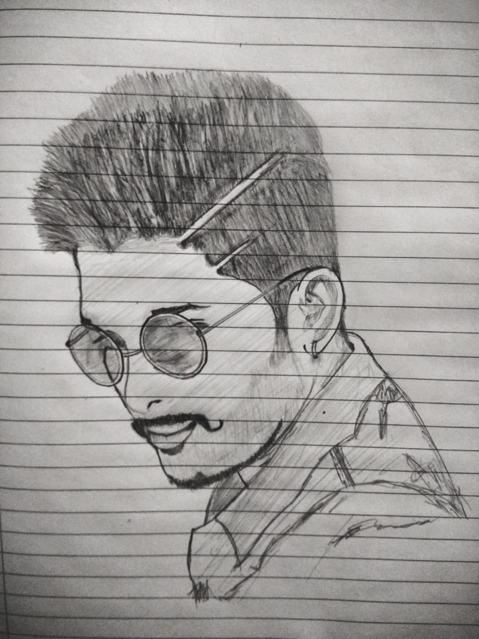 Sketch Art Of Allu Arjun Creative Art