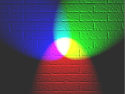 They have tiny pixels of each of these three colors. Based on the intensity of each pixel a final color becomes visible. When all the ... & Will mixing of red green and blue colours give white colour? - Quora