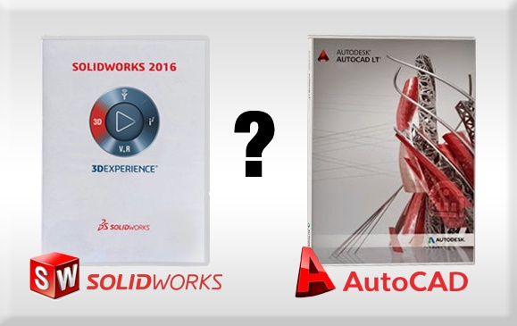 What is the difference between AutoCAD and SolidWorks? - Quora